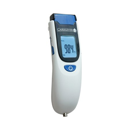 Non-Contact Skin Surface Thermometer Caregiver® Professional TouchFree™ Infrared Skin Probe Handheld Product Image
