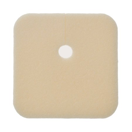 Foam Dressing Lyofoam® Max T 3-1/2 X 3-1/2 Inch Fenestrated Square Non-Adhesive without Border Sterile Product Image