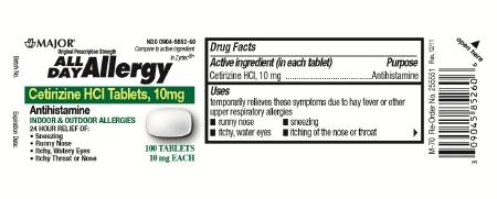 Major Pharmaceuticals 00904585260 - McKesson Medical-Surgical