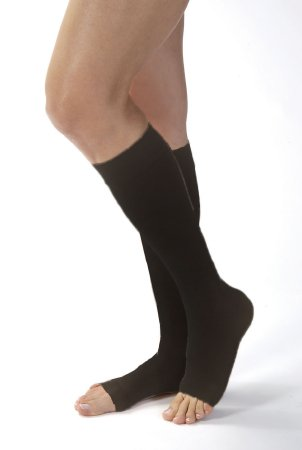 827c185c12 Compression Stockings JOBST® Opaque Knee High Medium Black Open Toe. BSN  Medical 115385