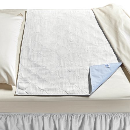 Underpad CareFor™ Deluxe 36 X 54 Inch Reusable Polyester / Rayon Heavy Absorbency Product Image