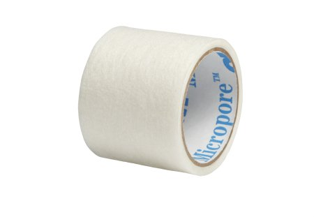 Medical Tape 3M™ Micropore™ Plus High Adhesion Paper 1 Inch X 1-1/2 Yard White NonSterile Product Image