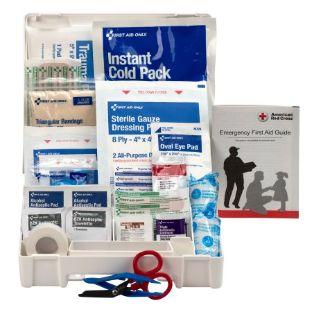 First Aid Kit First Aid Only® 10 Person Waterproof Case Product Image