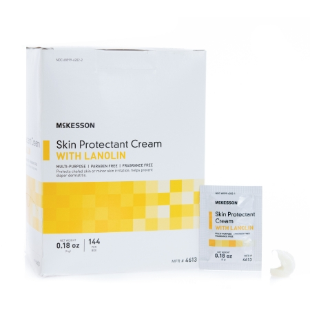 Skin Protectant Mckesson 5 Gram Individual Packet Unscented Cream Product Image
