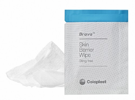 Skin Barrier Wipe Brava® Sting Free 90 to 95% Strength Hexamethyldisiloxane Individual Packet NonSterile Product Image