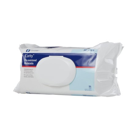 Personal Wipe Curity™ Soft Pack Aloe / Vitamin E / Chamomile Scented 96 Count Product Image