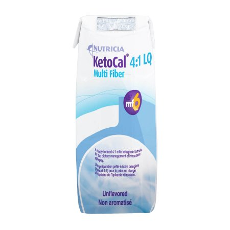 Oral Supplement / Tube Feeding Formula KetoCal® 4:1 Unflavored Ready to Use 8 oz. Carton Product Image