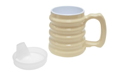 Fabrication Drinking Mug with Spout Lid