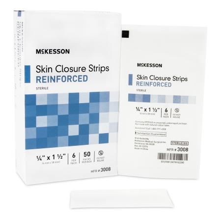 McKesson Skin Closure Reinforced Strip
