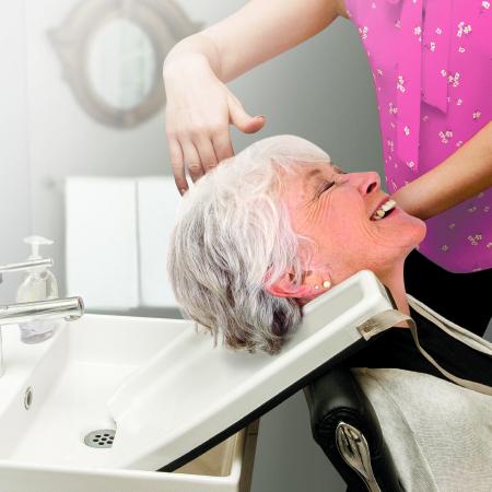 Shampoo Tray Jobar International 1-3/4 X 13 X 17-3/4 Inch White Product Image