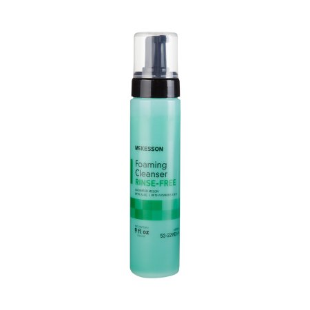 Rinse-Free Body Wash McKesson Foaming 9 oz. Pump Bottle Cucumber Melon Scent Product Image