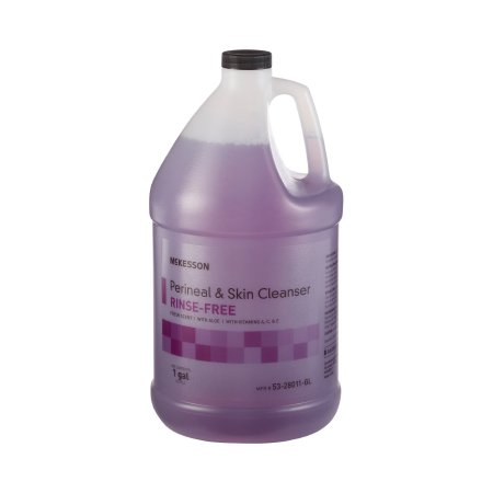 Rinse-Free Perineal Wash McKesson Liquid 1 gal. Jug Fresh Scent Product Image