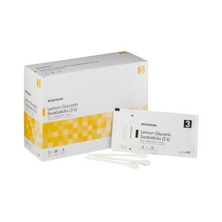 Oral Swabstick McKesson Lemon Glycerin Product Image