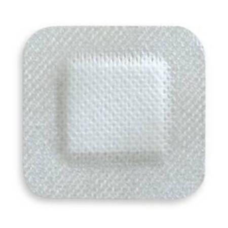 Adhesive Dressing McKesson 4 X 4 Inch Nonwoven Gauze Square White NonSterile Product Image
