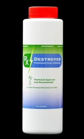 Pharmaceutical Disposal System Rx Destroyer 16oz Bottle (1/each)