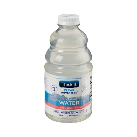 Thickened Water Thick-It® Clear Advantage® 46 oz. Bottle Unflavored Ready to Use Nectar Consistency Product Image