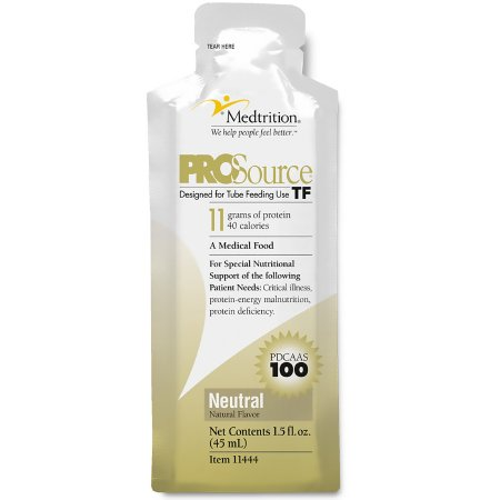 Tube Feeding Formula ProSource TF 45 mL Pouch Ready to Hang Unflavored Adult Product Image