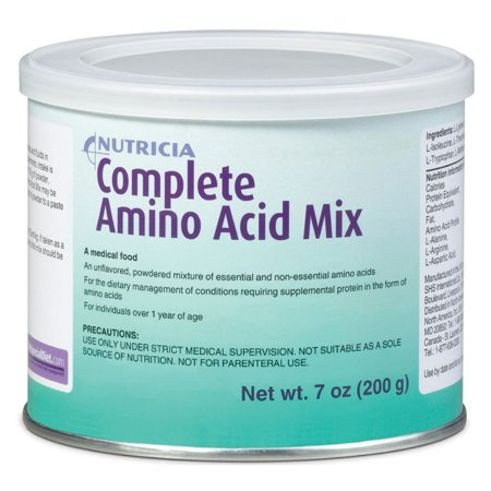 Amino Acid Oral Supplement Complete Amino Acid Mix Unflavored 7 oz. Can Powder Product Image