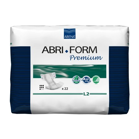 Unisex Adult Incontinence Brief Abri-Form™ Premium L2 Large Disposable Heavy Absorbency Product Image