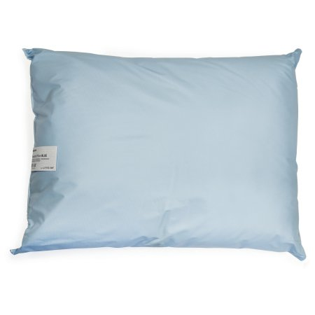 Bed Pillow McKesson 19 X 25 Inch Blue Reusable Product Image