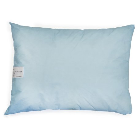 Bed Pillow McKesson 20 X 26 Inch Blue Reusable Product Image