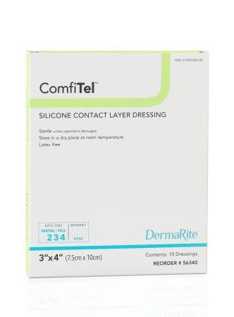 Silicone Dressing ComfiTel Silicone 3