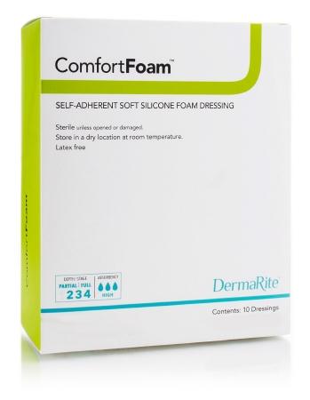 ComfortFoan 8x8 Silicone Foam Dressing (5/box)