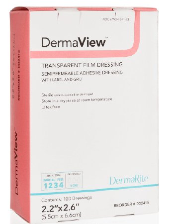 DermaView Transparent Film Dressing Roll 4