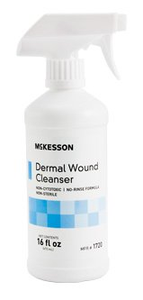 McKesson Dermal Wound Cleanser, 16 oz. (473 mL)