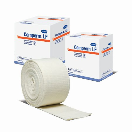 Elastic Tubular Support Bandage Comperm® 4 Inch X 11 Yard Standard Compression Pull On Natural Size F NonSterile Product Image