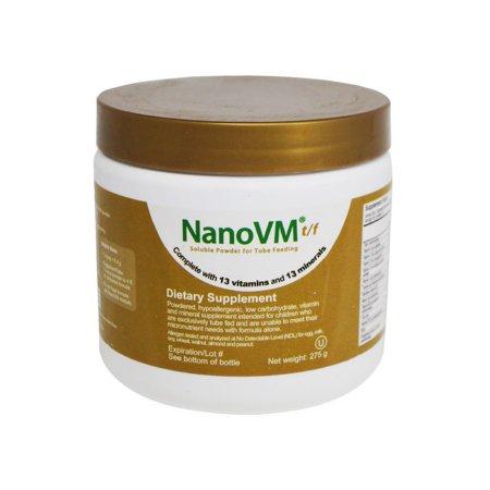 Pediatric Tube Feeding Formula NanoVM® tf 275 Gram Jar Powder Unflavored Ages 1 - 18 Years Product Image
