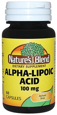 Alpha-Lipoic Acid 100mg (60/bottle)