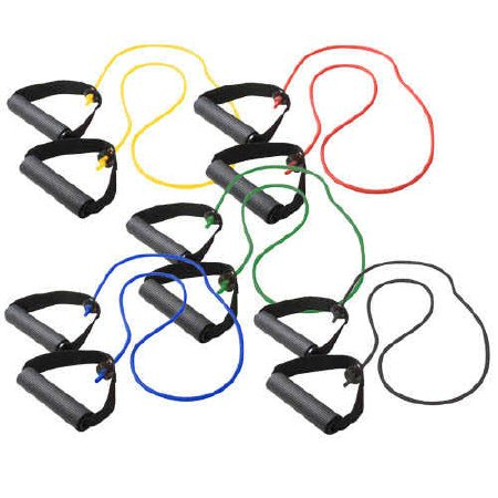 """All Colors 14/"""" /& 22/"""" Fabrication Enterprises Cando Bowtie Tubing Exercisers"""