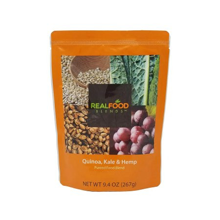 Tube Feeding Formula Real Food Blends™ 9.4 oz. Pouch Ready to Use Quinoa / Kale / Hemp Adult / Child Product Image