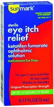Allergy Eye Relief Sunmark, .17oz eye drops (1/each)