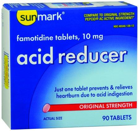 Antacid Famotidine Tablet 10mg (90/box)