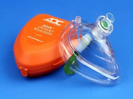 CPR Resuscitation Mask (1/each)