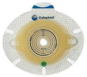 COLOPLAST  10036 Ostomy Barrier SenSura® Flex Xpro Pre-Cut, Extended Wear Double