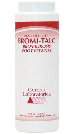 Bromi-Talc Foot Powder