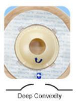 Marlen 57625 Colostomy / Ileostomy Pouch Ultralite� One-Piece System 9 h L X