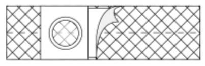 NU-HOPE  2668 Hernia Belt X-Large, Adult 4 Inch one EA(1/EA)