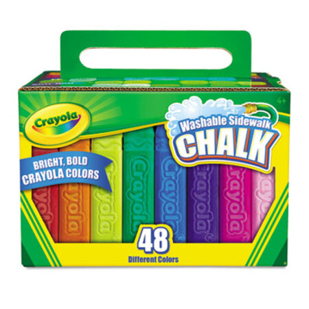 12 Sticks//Box Crayola/® Nontoxic Anti-Dust Chalk Sold As 1 Box Low-dust chalk for use on most chalkboards. White