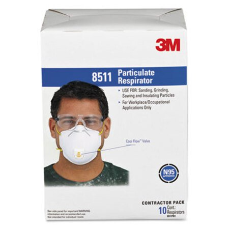 3m 8511 niosh n95 mask
