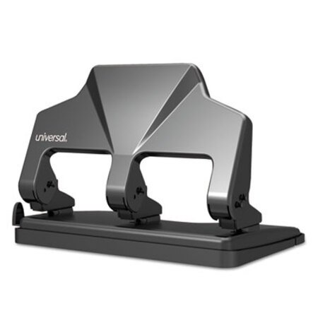 "Blk 9//32/""/""Holes Swingline 11-Sheet Commercial Adjustable Desktop 3-Hole Punch"