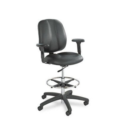 HON Height-Adjustable T-Arms for Volt Series Task Chair Black