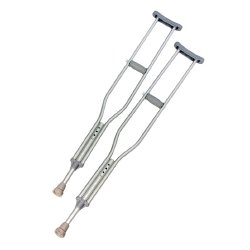 PremierPro™ Push Button Underarm Crutch