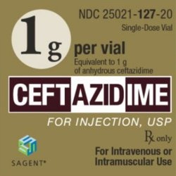 Sagent Pharmaceuticals 25021012720