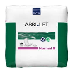 Abri-Let™ Normal Adult Disposable Moderate-Absorbent Incontinence Booster Pad, 4 X 15 Inch
