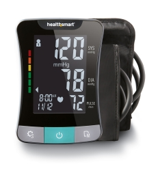 MABIS® 1-Tube Blood Pressure Monitor, Black Cuff