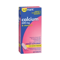 sunmark® Calcium with Vitamin D Supplement